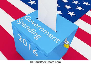 El concepto de gasto del gobierno 2016