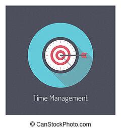 El concepto de ilustración del tiempo