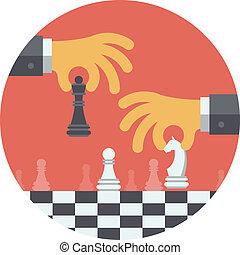 El concepto de ilustración plana estratégica