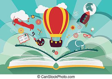 El concepto de imaginación: libro abierto