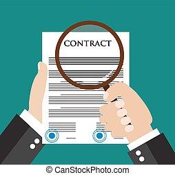 El concepto de inspección de contratos