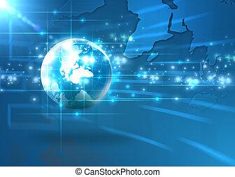 El concepto de Internet del mundo