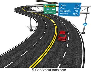 El concepto de la autopista