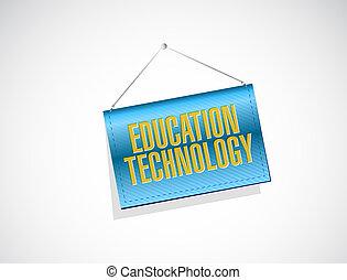 El concepto de la bandera de la educación