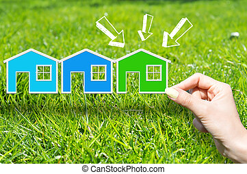 El concepto de la casa verde