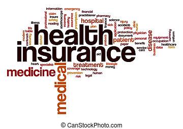 El concepto de la palabra del seguro de salud