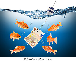 El concepto de la tentación de los peces