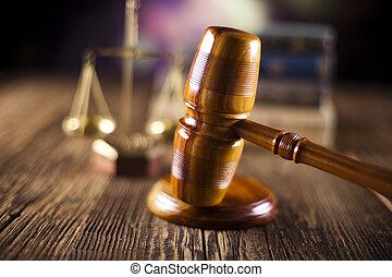 El concepto de ley y justicia