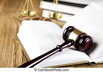 El concepto de ley y justicia, código legal