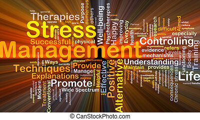 El concepto de manejo del estrés brilla
