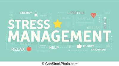 El concepto de manejo del estrés.
