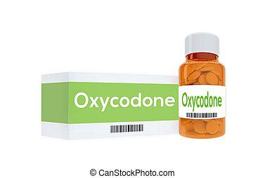 El concepto de medicación para la oxicodona