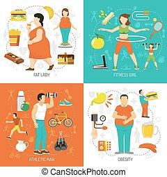 El concepto de obesidad y salud