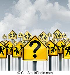 El concepto de pregunta de estudiantes