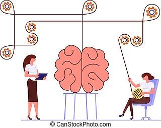 El concepto de problemas mentales