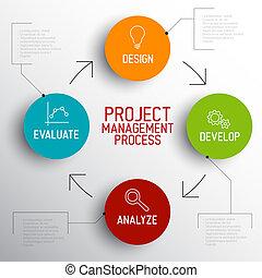 El concepto de proyecto de gestión del proceso