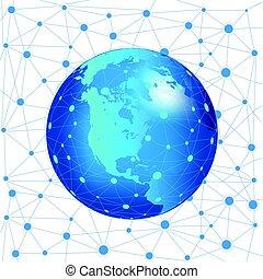 El concepto de red de Internet