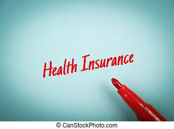 El concepto de seguro de salud
