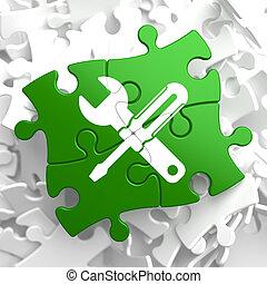 El concepto de servicio en piezas verdes.