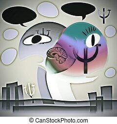 El concepto de simbiosis en psicología