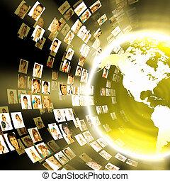 El concepto de tecnología de los medios