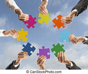 El concepto de trabajo en equipo e integración