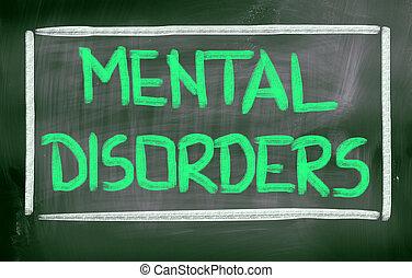 El concepto de trastornos mentales