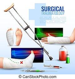 El concepto de traumatología quirúrgica