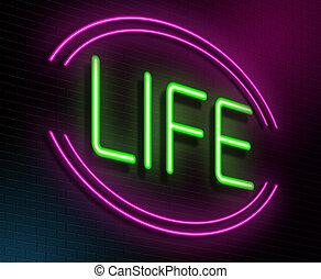El concepto de vida.
