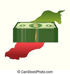 El concepto de Wall Street financia el mundo económico