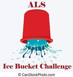 El concepto del cubo de hielo de la ELA