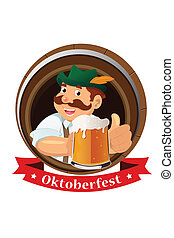 El concepto del Oktoberfest