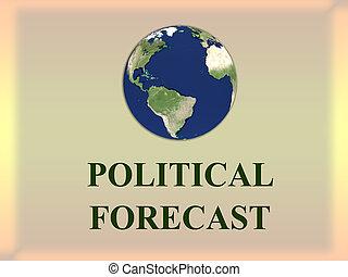 El concepto del pronóstico político