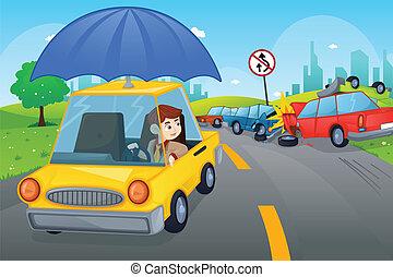 El concepto del seguro de autos