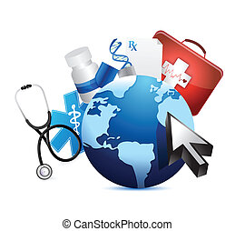 El concepto médico internacional del globo