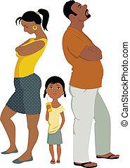 El conflicto familiar afecta a los niños