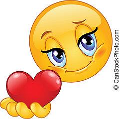 El corazón de Emoticon
