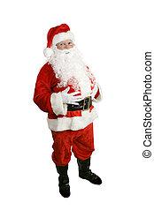 El cuerpo completo de Santa