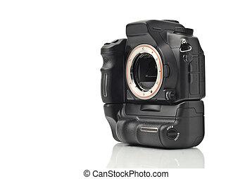 El cuerpo de cámara DSLR sin lentes aislados