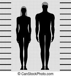 El cuerpo masculino y femenino se templa