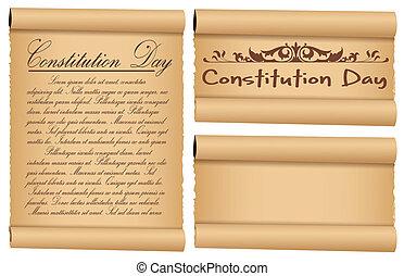 El día de la constitución de los estatutos