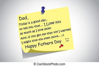 El día de los padres felices la publica
