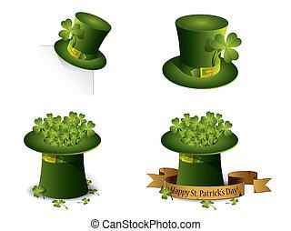 El día de San Patrick simboliza vector