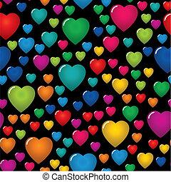 El día de San Valentín es un fondo abstracto
