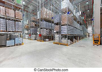 El depósito de distribución
