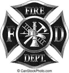 El departamento de bomberos cruza el envoltorio de plata
