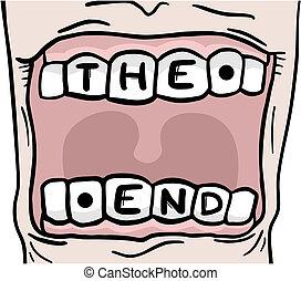 El diente final