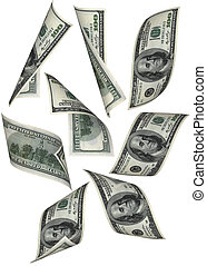 El dinero cae