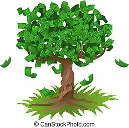 El dinero crece en el árbol
