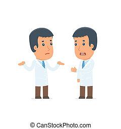 El Doctor Personaje Frustrado no puede ayudar a resolver el problema